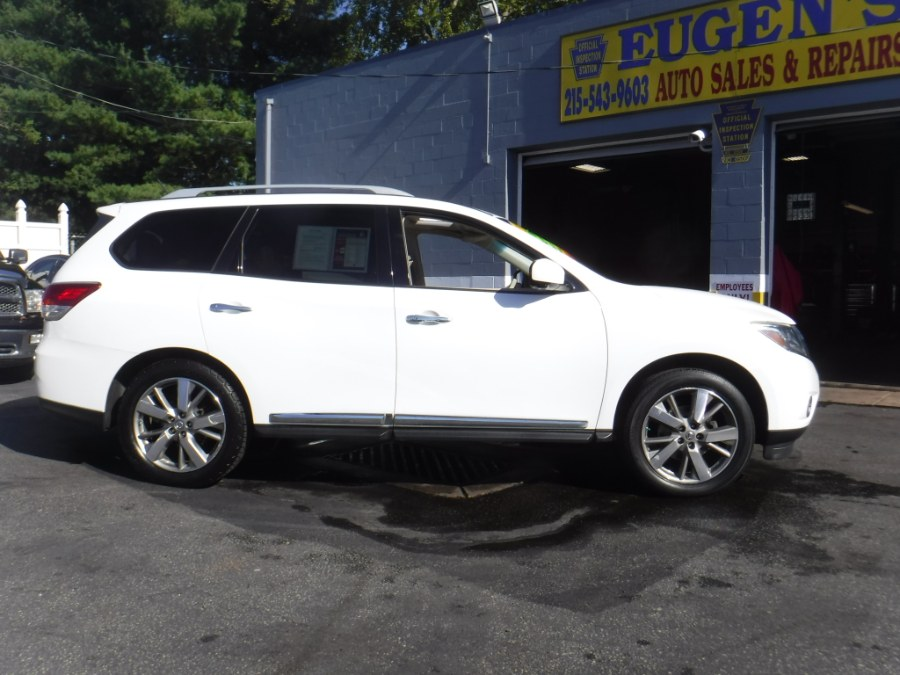 2013 Nissan Pathfinder 4WD 4dr Platinum, available for sale in Philadelphia, Pennsylvania | Eugen's Auto Sales & Repairs. Philadelphia, Pennsylvania