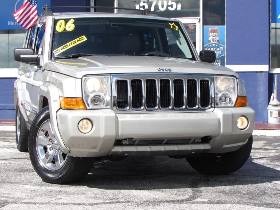 Used Jeep Commander 4dr Limited 2WD 2006 | VIP Auto Enterprise, Inc. Orlando, Florida
