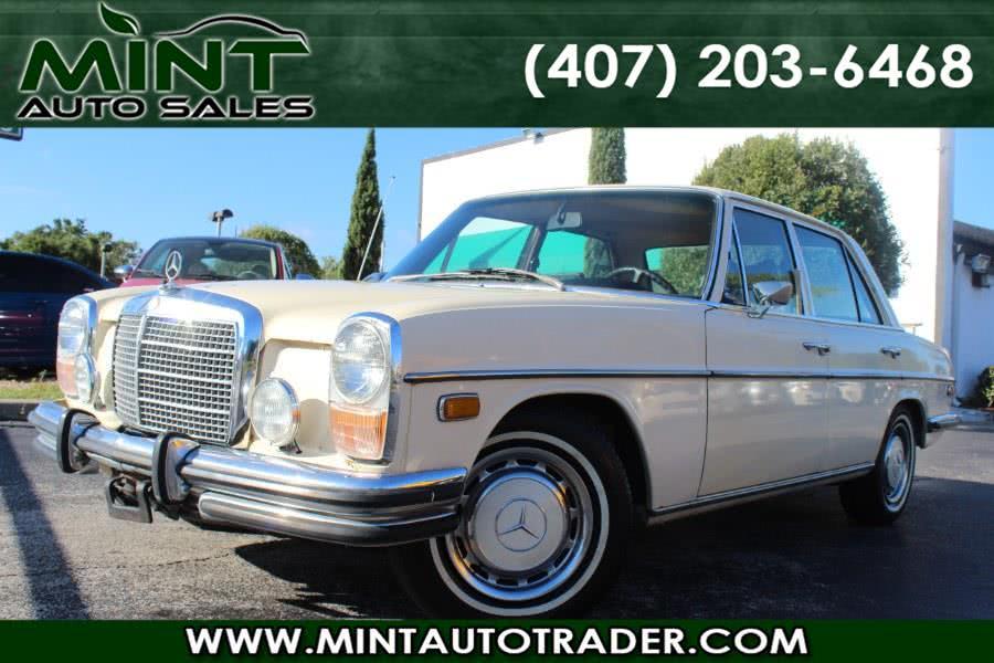 Used 1973 Mercedes-Benz 280 in Orlando, Florida | Mint Auto Sales. Orlando, Florida