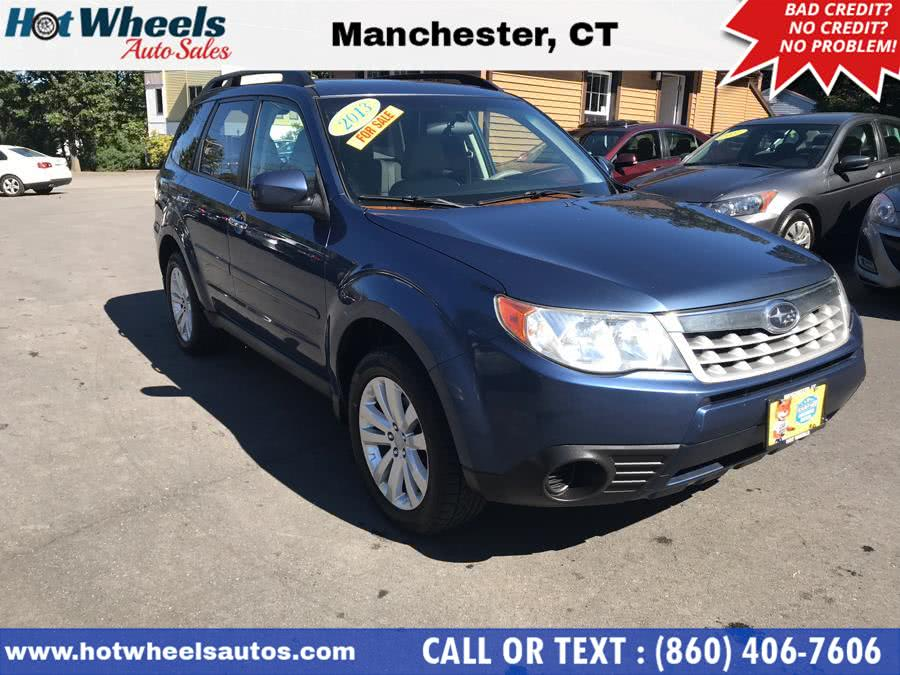 2013 Subaru Forester 4dr Auto 2.5X Premium, available for sale in Manchester, Connecticut | Hot Wheels Auto Sales LLC. Manchester, Connecticut