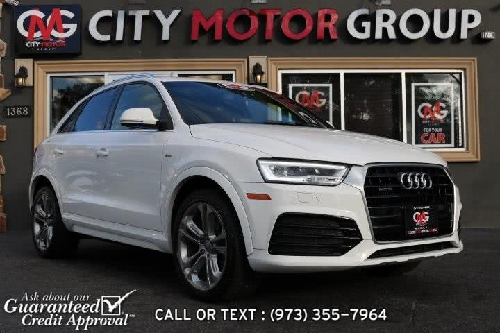 Used Audi Q3 2.0T Prestige 2016 | City Motor Group Inc.. Haskell, New Jersey