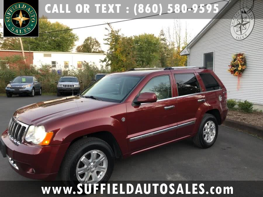 2008 Jeep Grand Cherokee 4WD 4dr Overland, available for sale in Suffield, Connecticut | Suffield Auto Sales. Suffield, Connecticut
