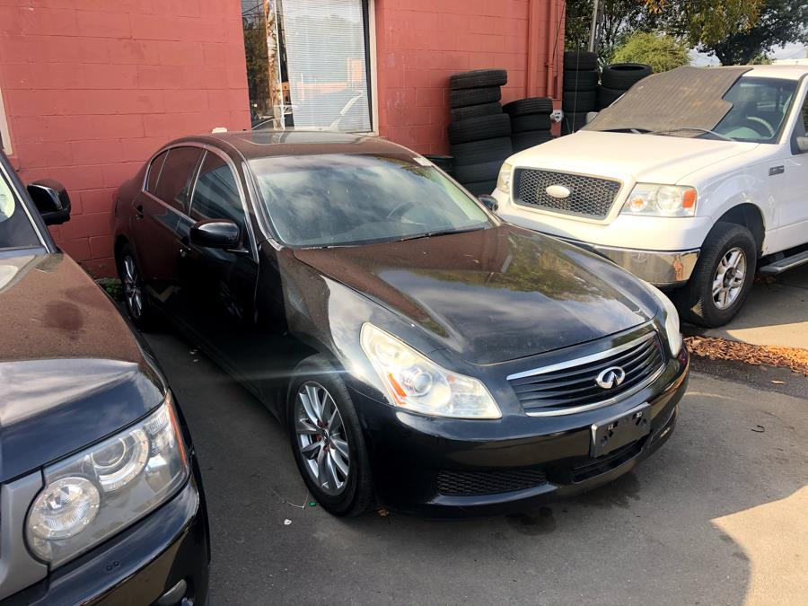 2008 Infiniti G35 Sedan 4dr x AWD, available for sale in New Haven, Connecticut | Primetime Auto Sales and Repair. New Haven, Connecticut
