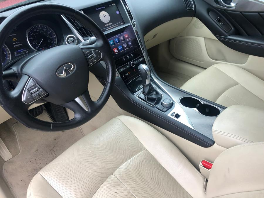 2015 Infiniti Q50 4dr Sdn Premium AWD, available for sale in New Haven, Connecticut | Primetime Auto Sales and Repair. New Haven, Connecticut