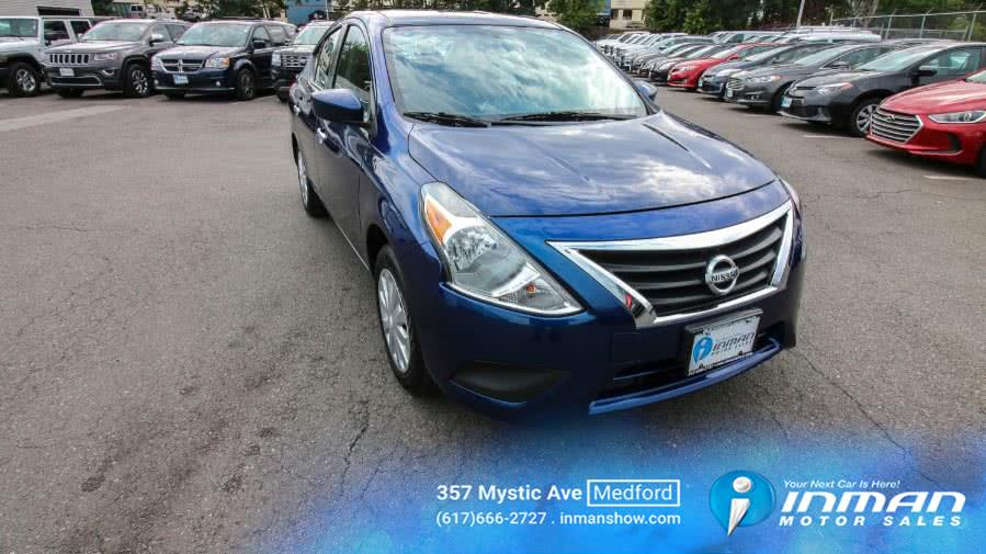 Used 2019 Nissan Versa Sedan in Medford, Massachusetts | Inman Motors Sales. Medford, Massachusetts