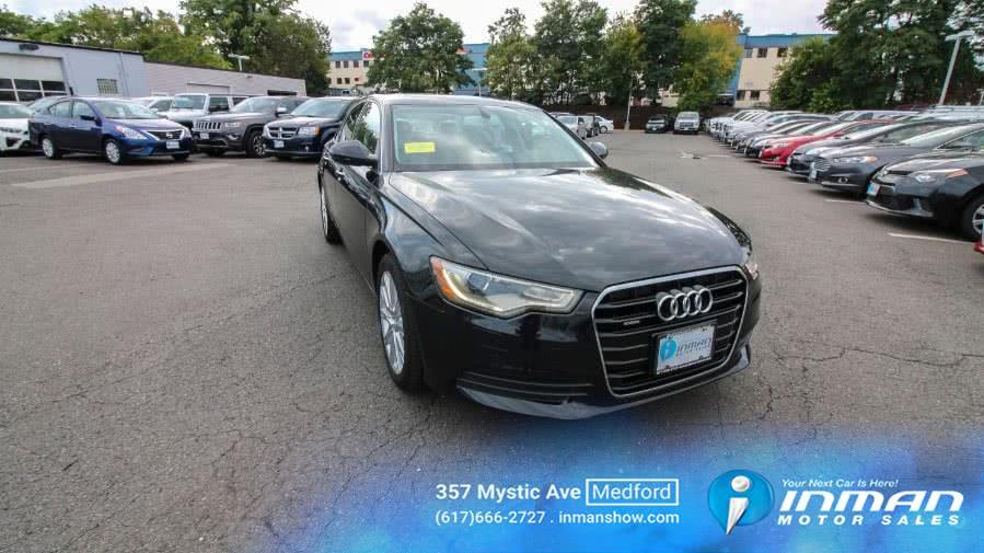 Used 2014 Audi A6 in Medford, Massachusetts | Inman Motors Sales. Medford, Massachusetts