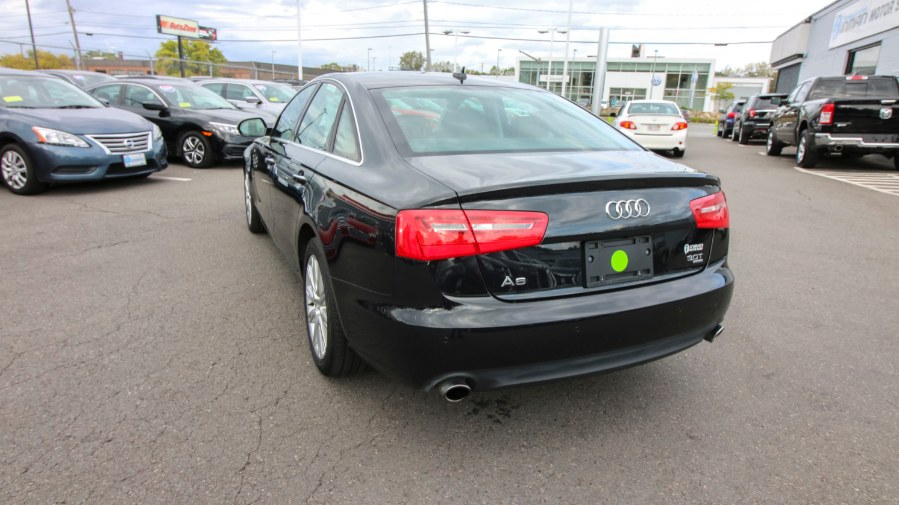 Used Audi A6 4dr Sdn quattro 3.0T Premium Plus 2014 | Inman Motors Sales. Medford, Massachusetts