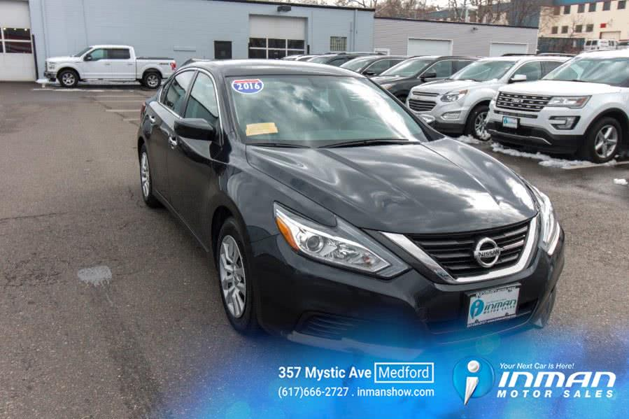 Used 2016 Nissan Altima in Medford, Massachusetts | Inman Motors Sales. Medford, Massachusetts