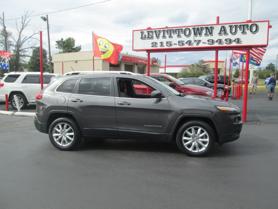 Used Jeep Cherokee 4WD 4dr Limited 2015 | Levittown Auto. Levittown, Pennsylvania