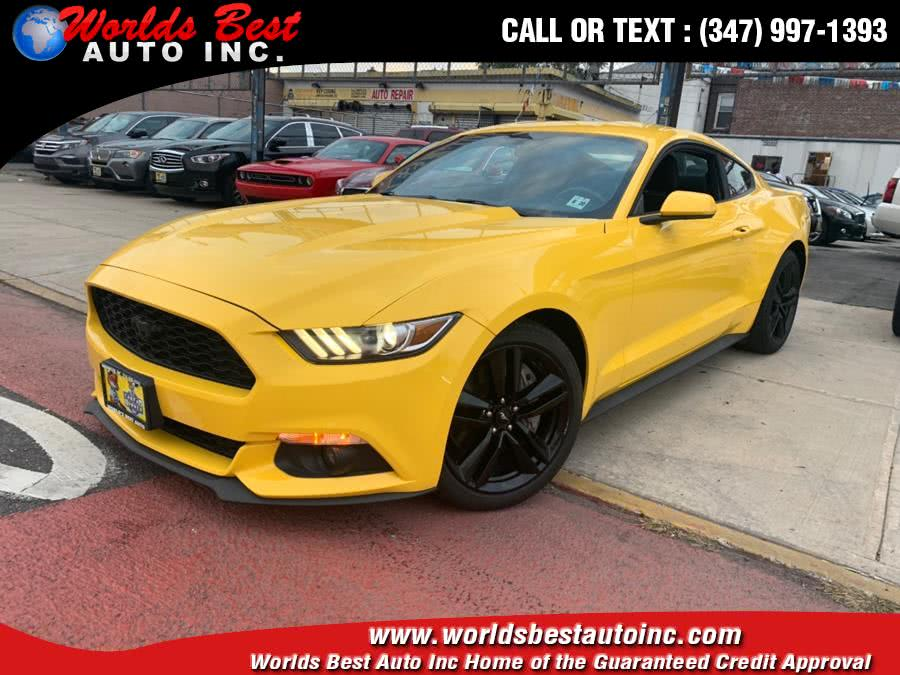 2015 Ford Mustang 2dr Fastback EcoBoost, available for sale in Brooklyn, NY