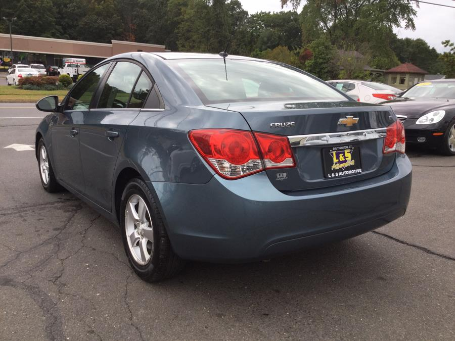 2012 Chevrolet Cruze 4dr Sdn LT w/1FL, available for sale in Plantsville, Connecticut | L&S Automotive LLC. Plantsville, Connecticut