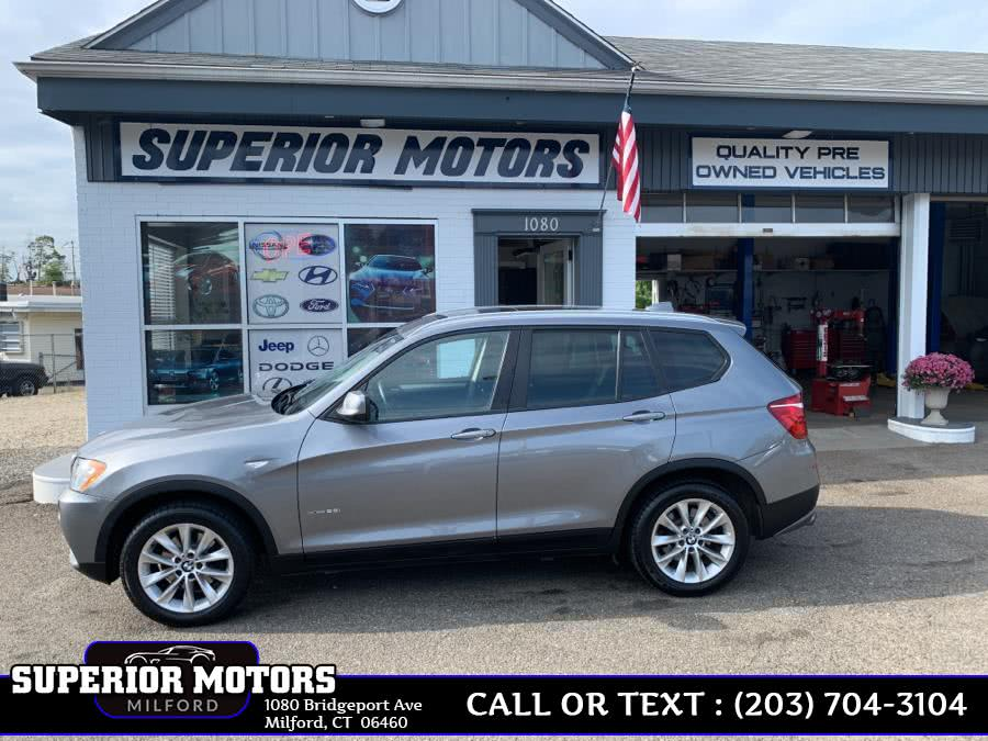 Used 2014 BMW X3 in Milford, Connecticut | Superior Motors LLC. Milford, Connecticut