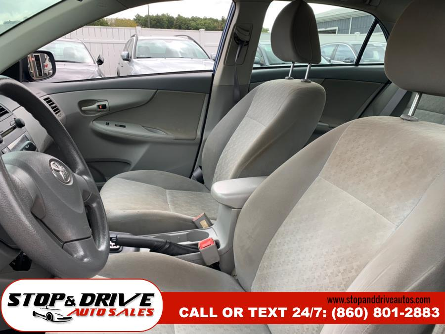 2009 Toyota Corolla 4dr Sdn Auto (Natl), available for sale in East Windsor, Connecticut | Stop & Drive Auto Sales. East Windsor, Connecticut