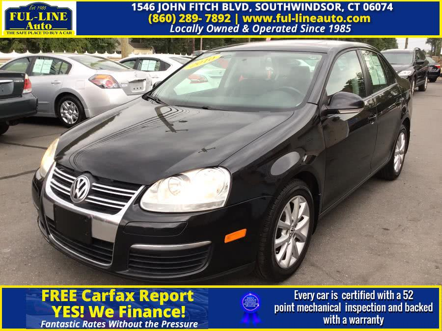 Used Volkswagen Jetta Sedan 4dr Auto Limited PZEV 2010 | Ful-line Auto LLC. South Windsor , Connecticut