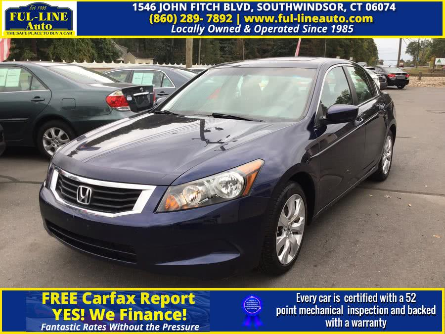 Used Honda Accord Sdn 4dr I4 Auto EX 2010 | Ful-line Auto LLC. South Windsor , Connecticut
