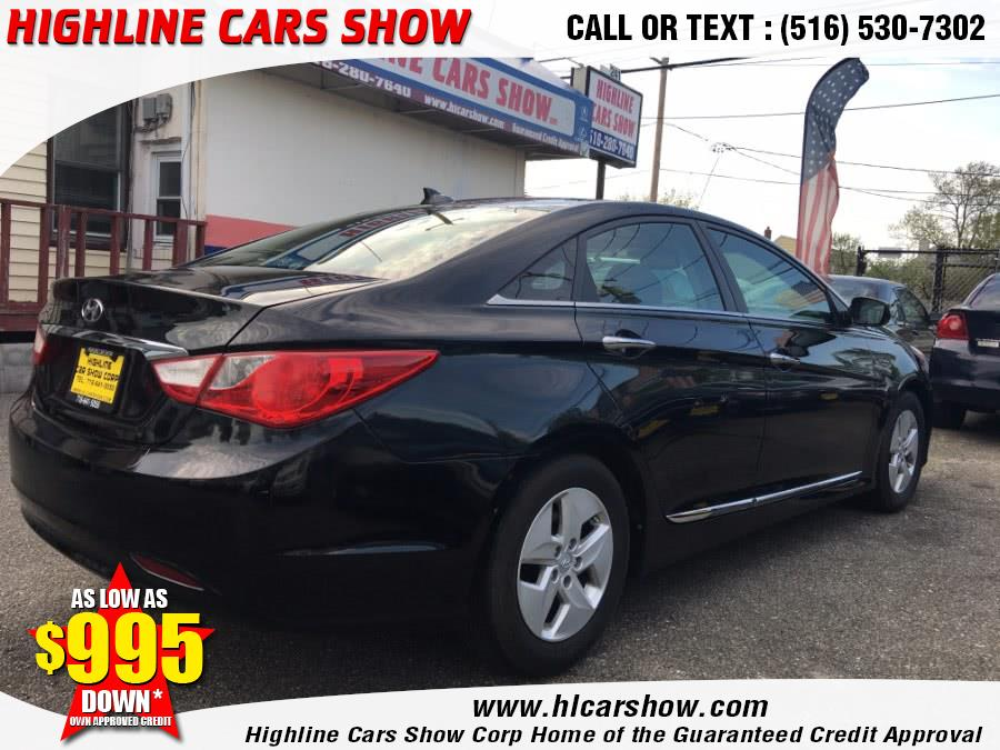 2012 Hyundai Sonata 4dr Sdn 2.4L Auto Hybrid, available for sale in West Hempstead, New York | Highline Cars Show Corp. West Hempstead, New York
