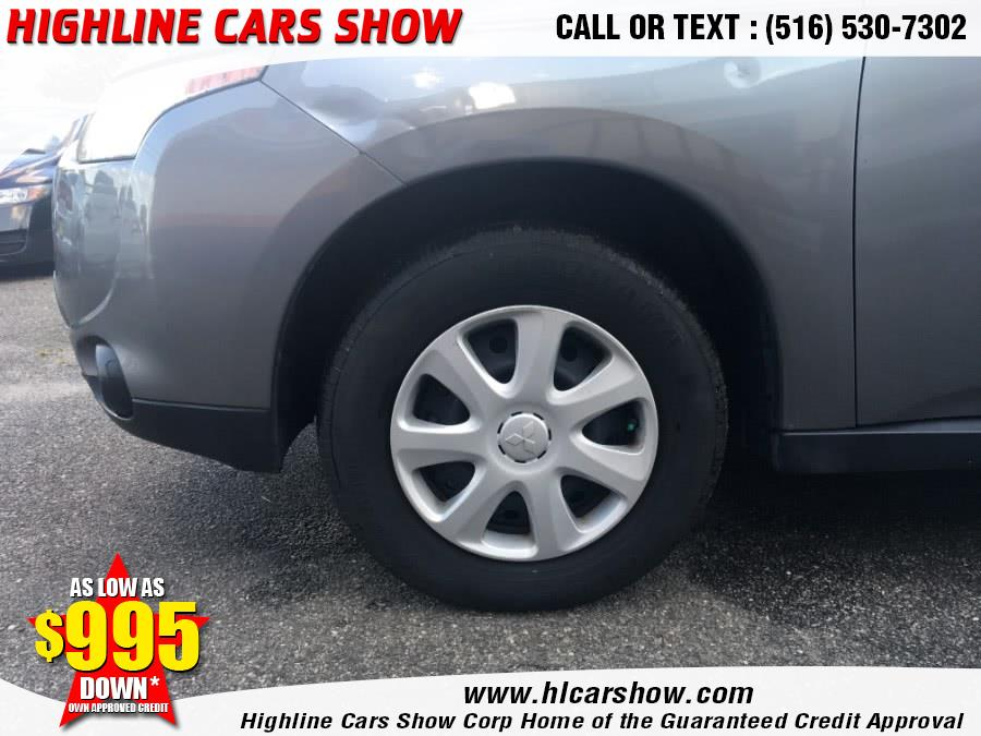 2014 Mitsubishi Outlander 2WD 4dr ES, available for sale in West Hempstead, New York | Highline Cars Show Corp. West Hempstead, New York