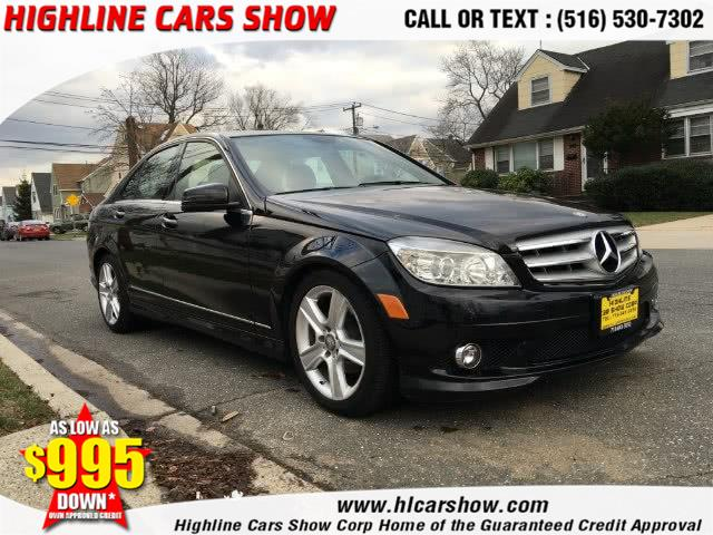 Used Mercedes-Benz C-Class 4dr Sdn C300 Sport 4MATIC 2010 | Highline Cars Show Corp. West Hempstead, New York