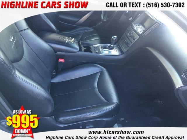 Used Infiniti G37 Coupe 2dr x AWD 2011   Highline Cars Show Corp. West Hempstead, New York