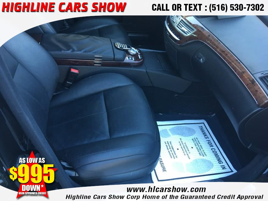 2009 Mercedes-Benz S-Class 4dr Sdn 5.5L V8 4MATIC, available for sale in West Hempstead, New York | Highline Cars Show Corp. West Hempstead, New York
