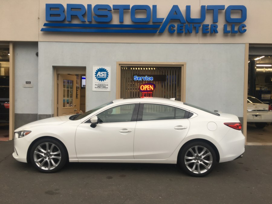 2016 Mazda Mazda6 4dr Sdn Auto i Touring, available for sale in Bristol, Connecticut | Bristol Auto Center LLC. Bristol, Connecticut