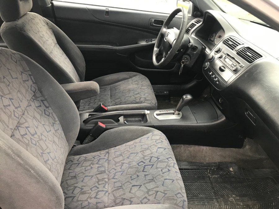 2002 Honda Civic 2dr Cpe EX Auto, available for sale in Fitchburg, Massachusetts   A & A Auto Sales. Fitchburg, Massachusetts