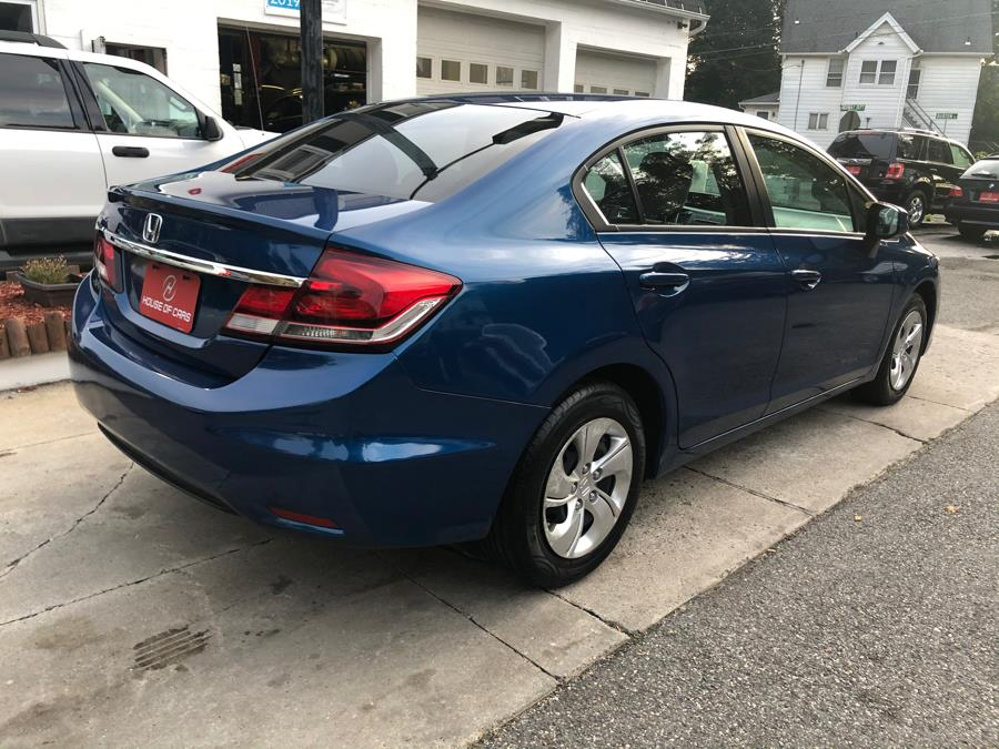 2013 Honda Civic Sdn 4dr Auto LX, available for sale in Watertown, Connecticut | House of Cars. Watertown, Connecticut