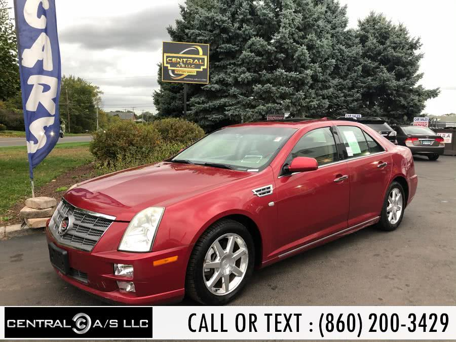 Used Cadillac STS 4dr Sdn V6 RWD w/1SA 2010 | Central A/S LLC. East Windsor, Connecticut