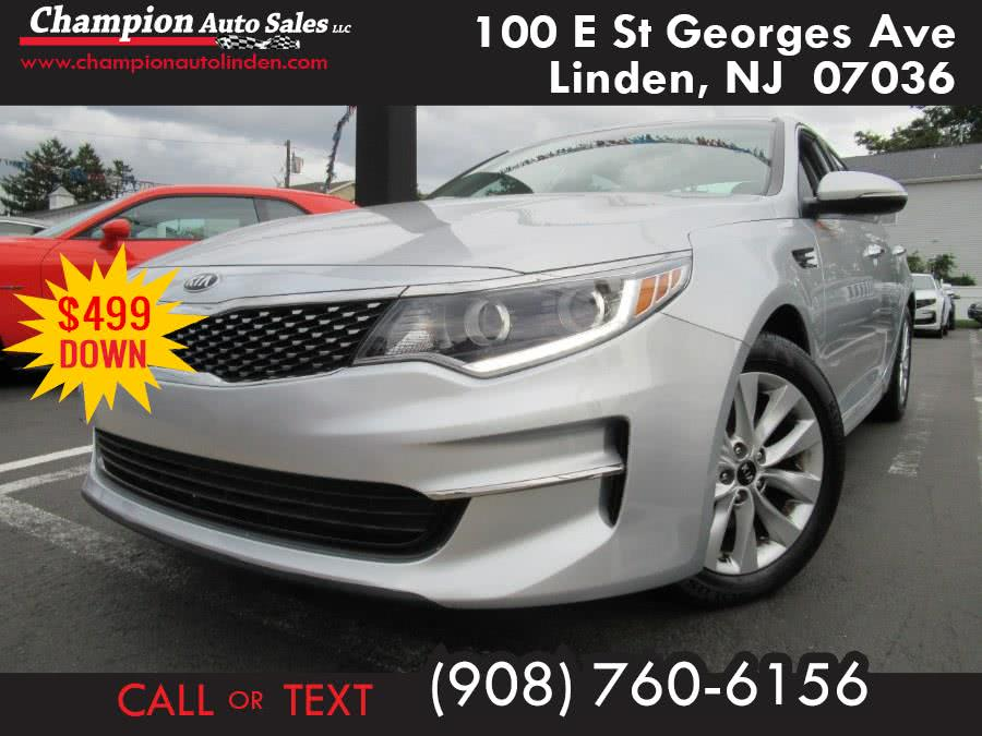 Used 2016 Kia Optima in Linden, New Jersey | Champion Used Auto Sales. Linden, New Jersey