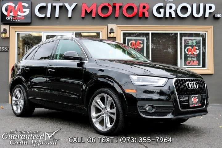 Used 2015 Audi Q3 in Haskell, New Jersey | City Motor Group Inc.. Haskell, New Jersey