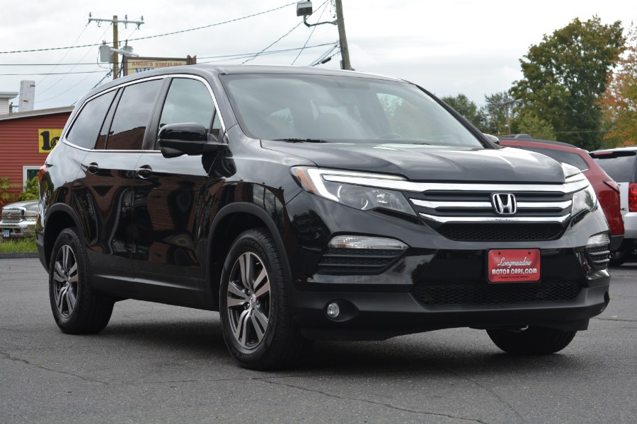 2016 Honda Pilot AWD 4dr EX-L w/RES, available for sale in ENFIELD, Connecticut | Longmeadow Motor Cars. ENFIELD, Connecticut