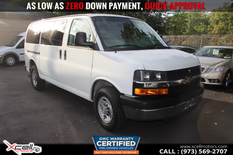 Used 2014 Chevrolet Express Passenger in Paterson, New Jersey | Xcell Motors LLC. Paterson, New Jersey