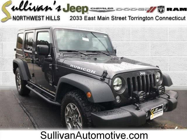 Used Jeep Wrangler Unlimited Rubicon 2016 | Sullivan Automotive Group. Avon, Connecticut
