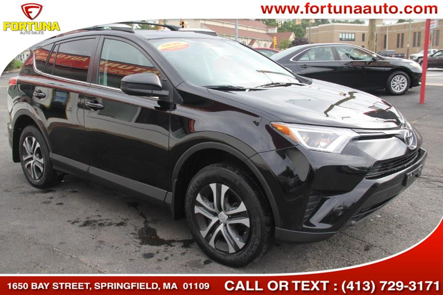 2016 Toyota RAV4 AWD 4dr LE (Natl), available for sale in Springfield, Massachusetts | Fortuna Auto Sales Inc.. Springfield, Massachusetts