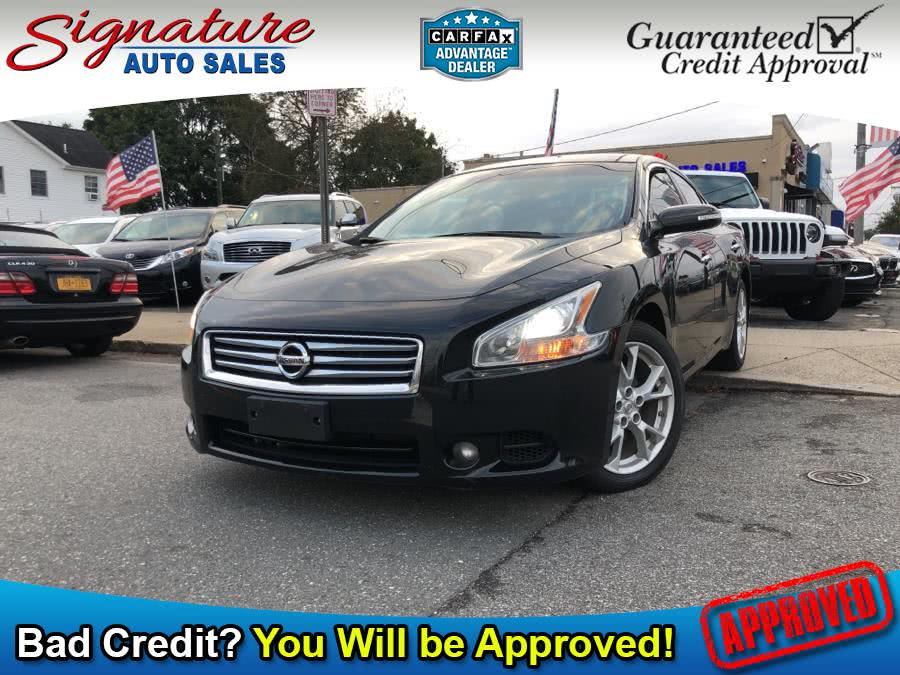 Used 2014 Nissan Maxima in Franklin Square, New York | Signature Auto Sales. Franklin Square, New York