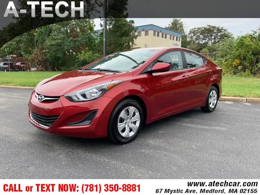 Used 2016 Hyundai Elantra in Medford, Massachusetts | A-Tech. Medford, Massachusetts