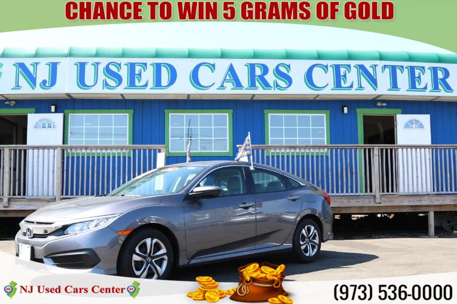 Used 2016 Honda Civic in Irvington, New Jersey | NJ Used Cars Center. Irvington, New Jersey