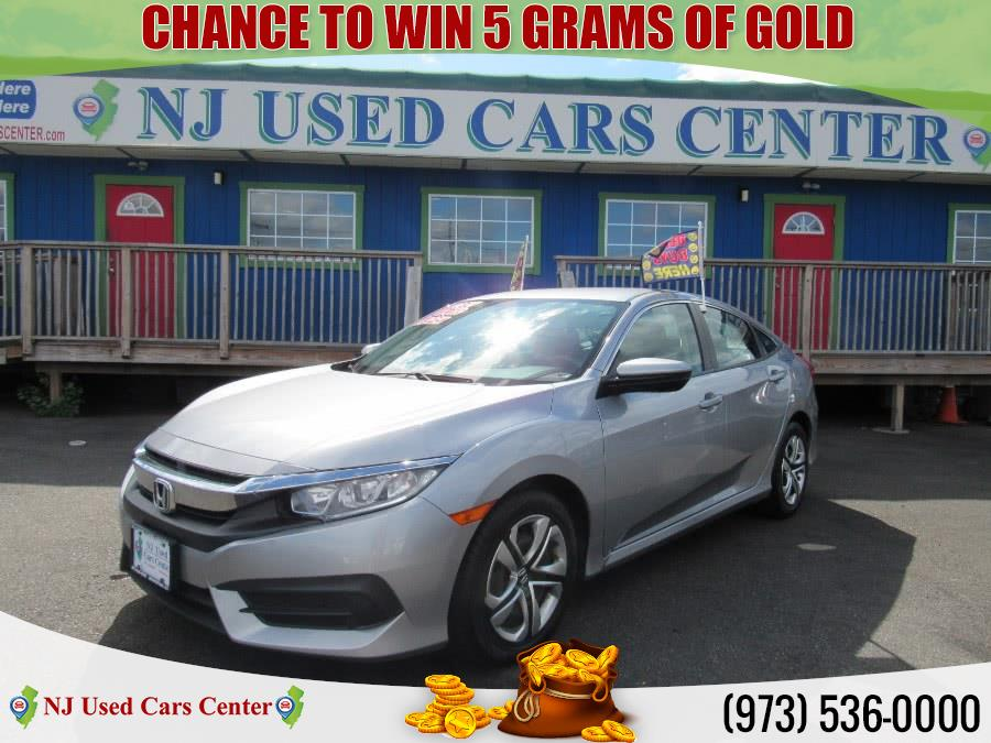 Used 2018 Honda Civic in Irvington, New Jersey | NJ Used Cars Center. Irvington, New Jersey
