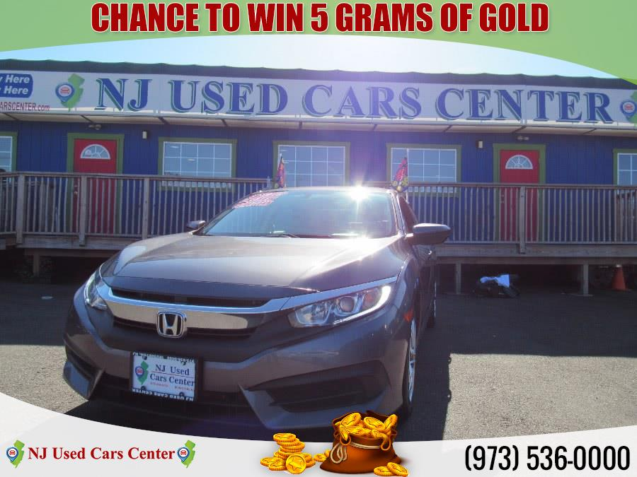 Used 2017 Honda Civic in Irvington, New Jersey | NJ Used Cars Center. Irvington, New Jersey