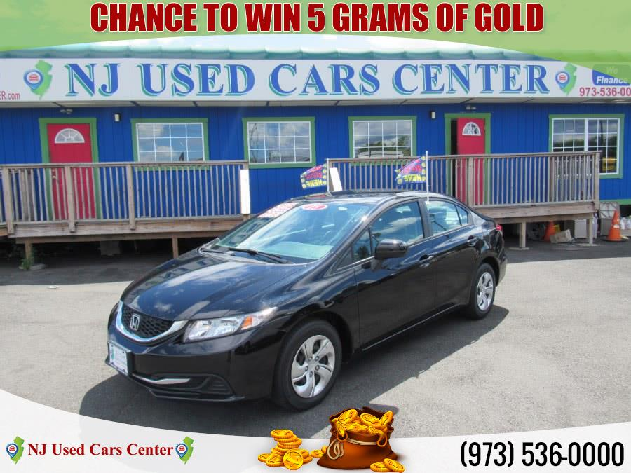 Used 2015 Honda Civic in Irvington, New Jersey | NJ Used Cars Center. Irvington, New Jersey