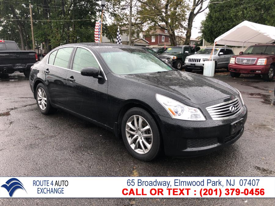 2007 Infiniti G35 Sedan 4dr Auto G35x AWD, available for sale in Elmwood Park, New Jersey | Route 4 Auto Exchange. Elmwood Park, New Jersey