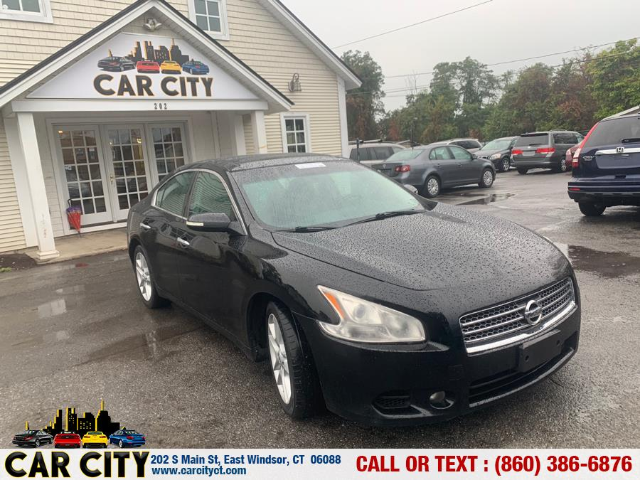 2011 Nissan Maxima 4dr Sdn V6 CVT 3.5 SV w/Premium Pkg, available for sale in East Windsor, Connecticut | Car City LLC. East Windsor, Connecticut