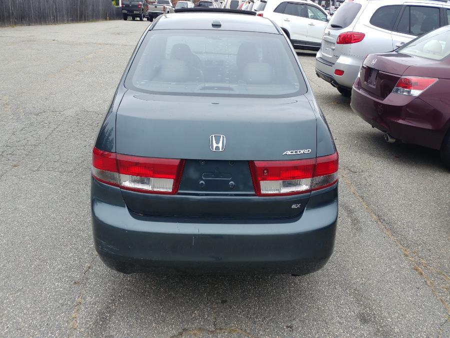 Used Honda Accord Sdn EX Auto w/Leather/XM 2004   Matts Auto Mall LLC. Chicopee, Massachusetts