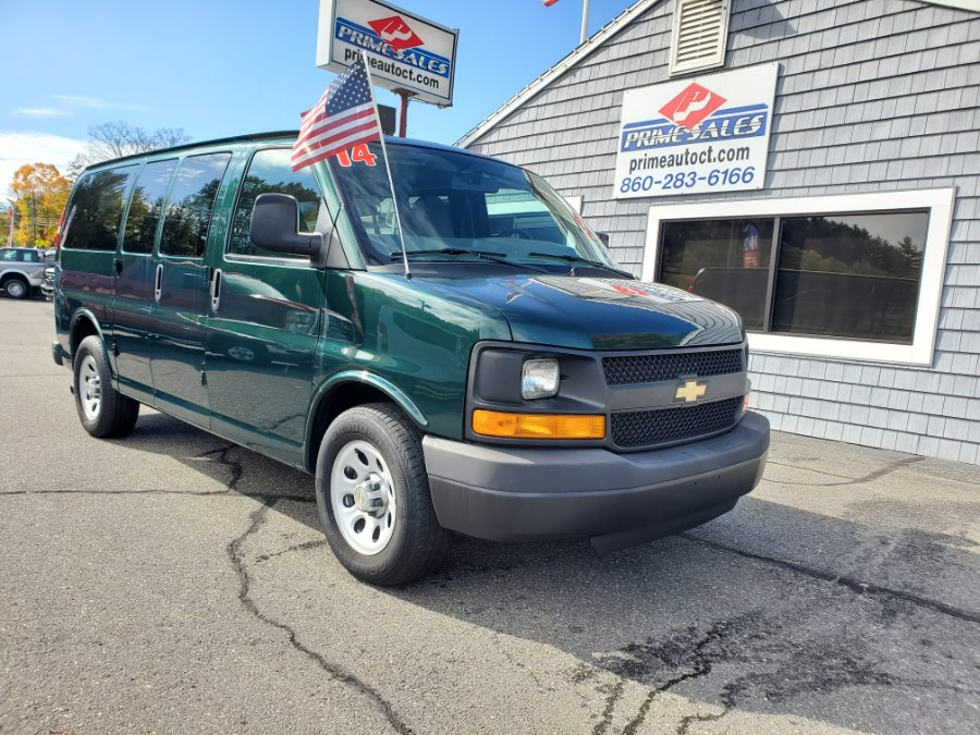 """2014 Chevrolet Express Passenger RWD 1500 135"""" LS, available for sale in Thomaston, CT"""