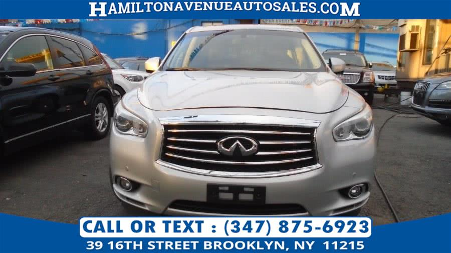 Used 2013 Infiniti JX35 in Brooklyn, New York | Hamilton Avenue Auto Sales DBA Nyautoauction.com. Brooklyn, New York