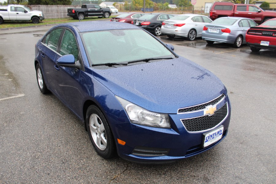 2013 Chevrolet Cruze 4dr Sdn Auto 1LT, available for sale in East Windsor, Connecticut | Century Auto And Truck. East Windsor, Connecticut