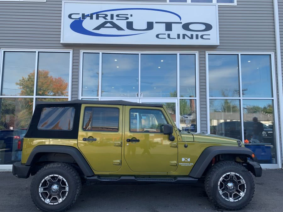 Used 2008 Jeep Wrangler in Plainville, Connecticut | Chris's Auto Clinic. Plainville, Connecticut
