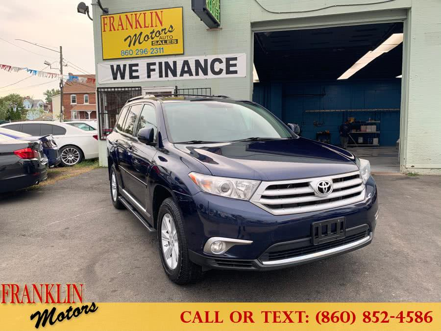 Used 2012 Toyota Highlander in Hartford, Connecticut | Franklin Motors Auto Sales LLC. Hartford, Connecticut