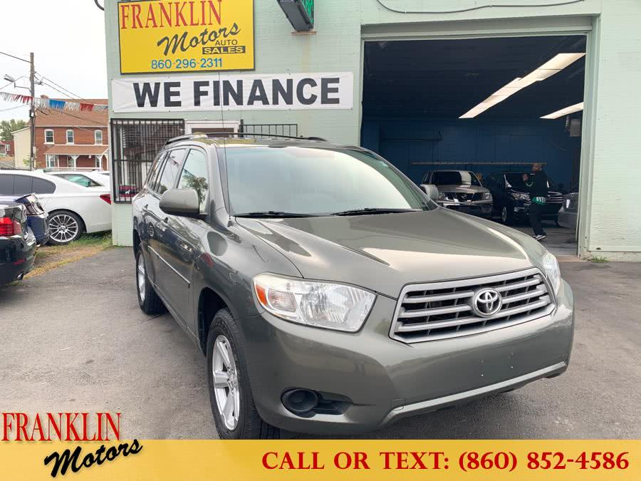 Used 2010 Toyota Highlander in Hartford, Connecticut | Franklin Motors Auto Sales LLC. Hartford, Connecticut