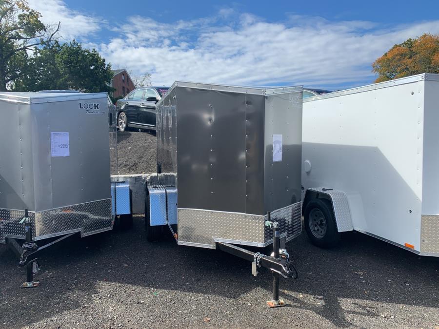 "Used Look trailers STLC5X8S12DLX ST Cargo DLX/Flat Top/24"" Sloped V 2020   Car City of Danbury, LLC. Danbury, Connecticut"